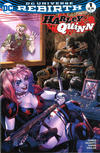 Cover for Harley Quinn (DC, 2016 series) #1 [Heroes & Fantasies Tyler Kirkham Color Cover]