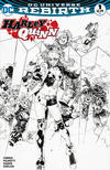 Cover for Harley Quinn (DC, 2016 series) #1 [Scorpion Comics Philip Tan Black and White Cover]