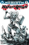 Cover for Harley Quinn (DC, 2016 series) #1 [The Comic Mint Francis Manapul Black and White Cover]