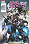 Cover for Young Avengers (Marvel, 2005 series) #10 [Newsstand]