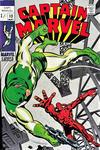 Cover for Captain Marvel (Marvel, 1968 series) #13 [British]