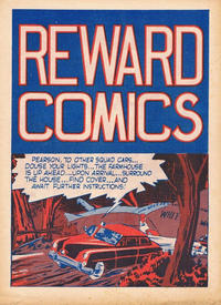 Cover Thumbnail for Reward Comics (Arnold Book Company, 1940 ? series)