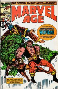 Cover Thumbnail for Marvel Age (Marvel, 1983 series) #65