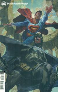 Cover Thumbnail for Batman / Superman (DC, 2019 series) #6 [Simone Bianchi Cardstock Variant Cover]