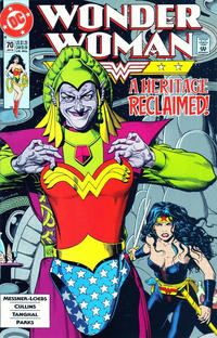 Cover Thumbnail for Wonder Woman (DC, 1987 series) #70 [Direct]