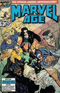 Cover Thumbnail for Marvel Age (Marvel, 1983 series) #66