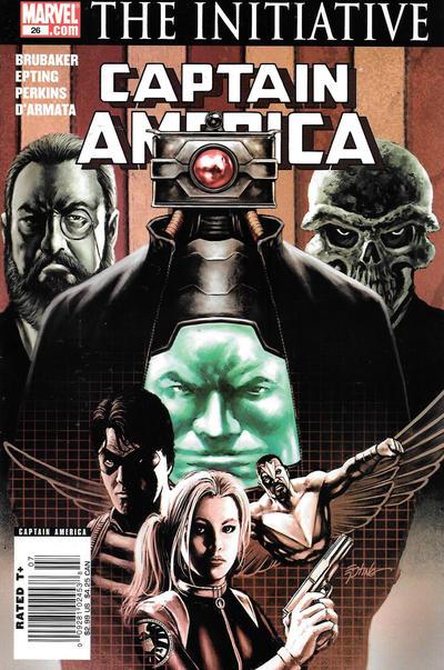 Cover for Captain America (Marvel, 2005 series) #26