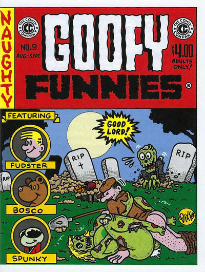 Cover for Goofy Funnies (The Comix Company, 2008 series) #9