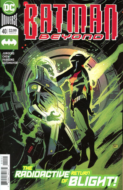 Cover for Batman Beyond (DC, 2016 series) #40