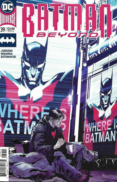 Cover for Batman Beyond (DC, 2016 series) #39