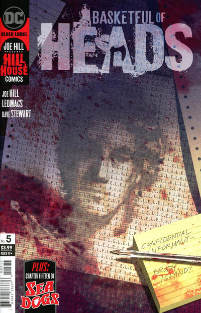 Cover for Basketful of Heads (DC, 2019 series) #5 [Matteo Scalera Cover]