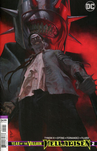 Cover for Year of the Villain: Hell Arisen (DC, 2020 series) #2 [Steve Epting Cover]