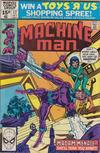 Cover for Machine Man (Marvel, 1978 series) #17 [British]