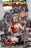 Cover Thumbnail for Harley Quinn 25th Anniversary Special (2017 series) #1 [The Nerd Store Chad Hardin Color Cover]