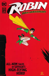 Cover Thumbnail for Robin 80th Anniversary 100-Page Super Spectacular (DC, 2020 series) #1 [Lee Weeks and Brad Anderson Cover]