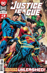 Cover Thumbnail for Justice League (DC, 2018 series) #43 [Bryan Hitch Cover]
