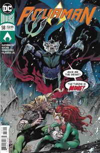Cover Thumbnail for Aquaman (DC, 2016 series) #58 [Robson Rocha & Daniel Henriques Cover]