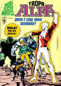 Cover Thumbnail for Grandes Heróis Marvel (Editora Abril, 1983 series) #21