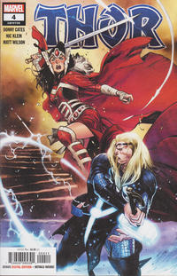 Cover Thumbnail for Thor (Marvel, 2020 series) #4 [Olivier Coipel]