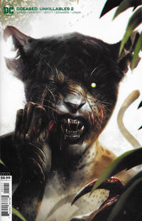 Cover Thumbnail for DCeased: Unkillables (DC, 2020 series) #2 [Francesco Mattina Variant Cover]