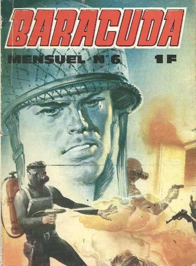 Cover for Baracuda (Impéria, 1967 series) #6