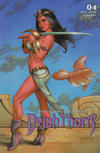 Cover Thumbnail for Dejah Thoris (2019 series) #4 [Cover C Joseph Michael Linsner]