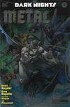 Cover Thumbnail for Dark Nights: Metal (2017 series) #2 [NYCC Comic Con 2017 Convention Exclusive Silver Foil Cover]