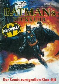 Cover Thumbnail for Batmans Rückkehr (Bastei Verlag, 1992 series)