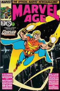 Cover Thumbnail for Marvel Age (Marvel, 1983 series) #78