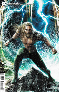 Cover Thumbnail for Aquaman (DC, 2016 series) #58 [Jeremy Roberts Variant Cover]