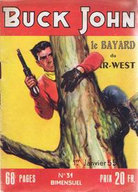 Cover Thumbnail for Buck John (Impéria, 1953 series) #31