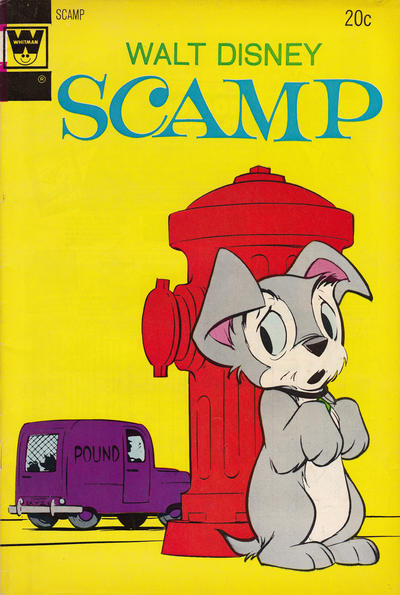 Cover for Walt Disney Scamp (Western, 1967 series) #16 [Whitman]