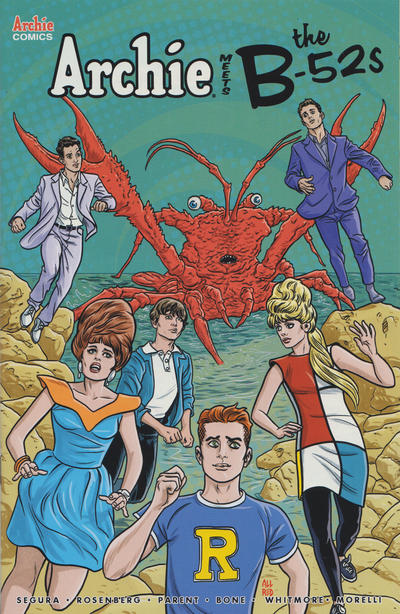 Cover for Archie Meets the B-52s (Archie, 2020 series)  [Cover D Joe Eisma]