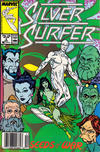 Cover for Silver Surfer (Marvel, 1987 series) #6 [Newsstand]