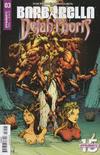 Cover Thumbnail for Barbarella/Dejah Thoris (2019 series) #3 [Cover B Zack Hsieh]