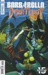 Cover for Barbarella/Dejah Thoris (Dynamite Entertainment, 2019 series) #1 [Cover D Tom Feister]