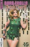 Cover for Barbarella/Dejah Thoris (Dynamite Entertainment, 2019 series) #1 [Cover E Cosplay Barbarella]