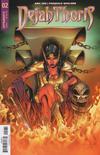 Cover for Dejah Thoris (Dynamite Entertainment, 2018 series) #2 [Cover C Sergio Dávila]