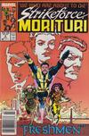 Cover for Strikeforce: Morituri (Marvel, 1986 series) #8 [Newsstand]