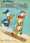 Cover for Donald Duck (Geïllustreerde Pers, 1952 series) #7/1963