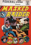 Cover for Masked Raider (Charlton, 1959 series) #8 [Federal]