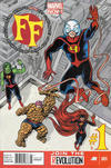 Cover for FF (Marvel, 2013 series) #1 [Newsstand]