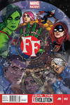 Cover for FF (Marvel, 2013 series) #2 [Newsstand]