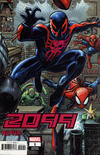 Cover Thumbnail for 2099 Alpha (2020 series) #1 [Arthur Adams 8-Part Connecting Variant]