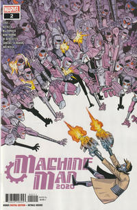 Cover Thumbnail for 2020 Machine Man (Marvel, 2020 series) #2