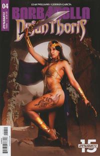 Cover Thumbnail for Barbarella/Dejah Thoris (Dynamite Entertainment, 2019 series) #4 [Cover E Cosplay]