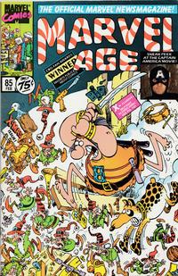 Cover Thumbnail for Marvel Age (Marvel, 1983 series) #85