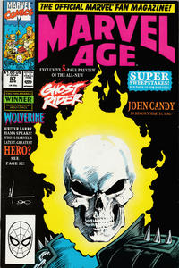 Cover Thumbnail for Marvel Age (Marvel, 1983 series) #87 [Direct]