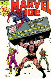 Cover Thumbnail for Marvel Age (Marvel, 1983 series) #4