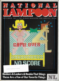Cover Thumbnail for National Lampoon Magazine (21st Century / Heavy Metal / National Lampoon, 1970 series) #v2#64